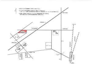 会場地図(赤色)
