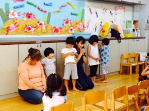 日本基督教団河内長野教会・みぎわ教会教会学校幼稚科のお友達