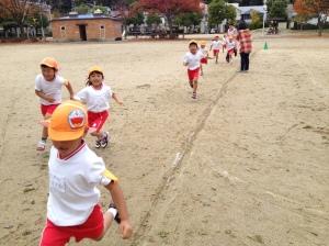 らいおん組(5歳)マラソン 最高24週走り切ったぞ!