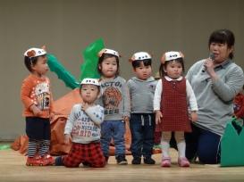 おおきなかぶ(りす組1歳児)